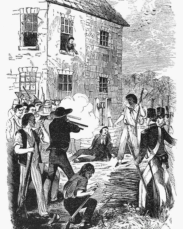 1844 Poster featuring the photograph Murder Of Smith, 1844 by Granger