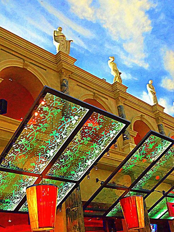 Vegas Poster featuring the photograph My Vegas Caesars 19 by Randall Weidner