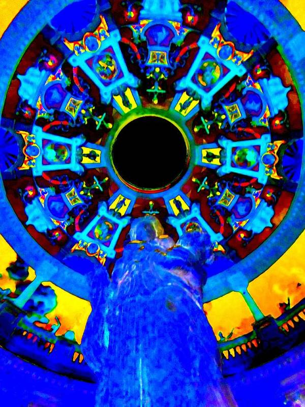 Vegas Poster featuring the digital art My Vegas Caesars 21 by Randall Weidner