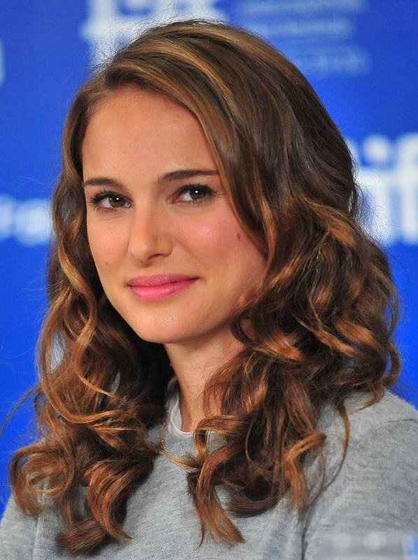 Natalie Portman Poster featuring the photograph Natalie Portman At The Press Conference by Everett