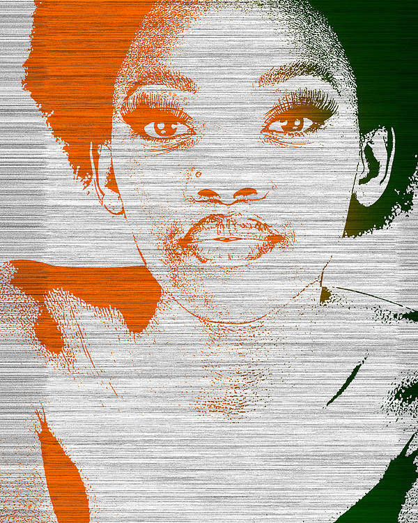 Poster featuring the photograph Natasha by Naxart Studio