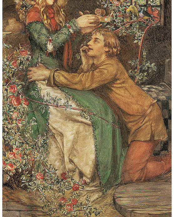 Eleanor Fortescue-brickdale Poster featuring the painting Natural Magic by Eleanor Fortescue-Brickdale