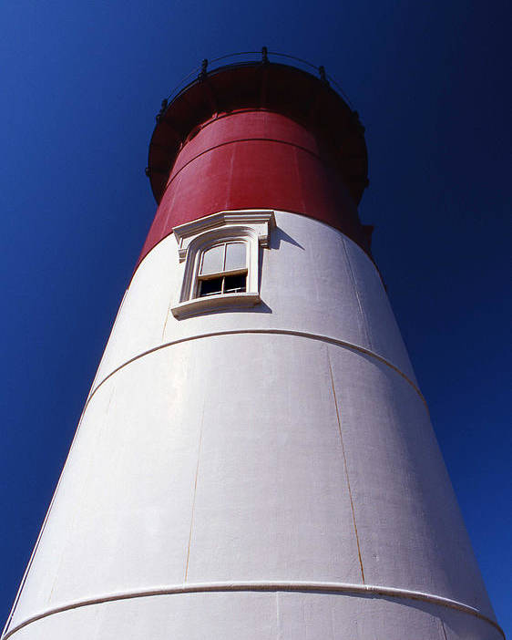 Nauset Beach Lighthouse Poster featuring the photograph Nauset Beach Lighthouse by Skip Willits
