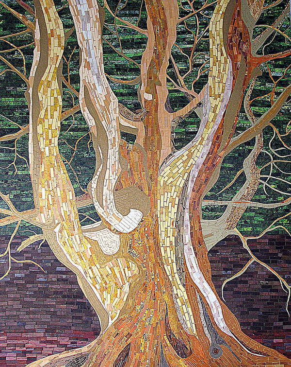 Tree Poster featuring the mixed media New Born by Claudia French