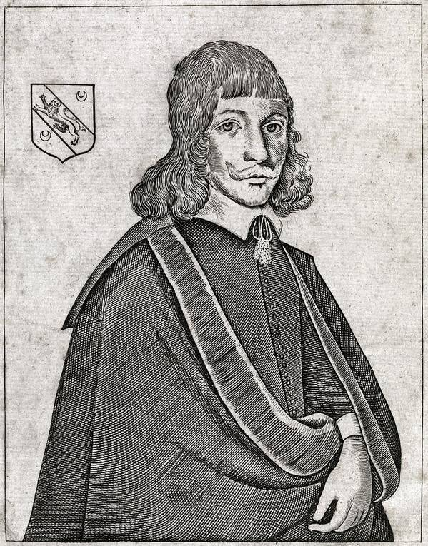 Nicholas Culpeper Poster featuring the photograph Nicholas Culpeper, English Physician by Middle Temple Library