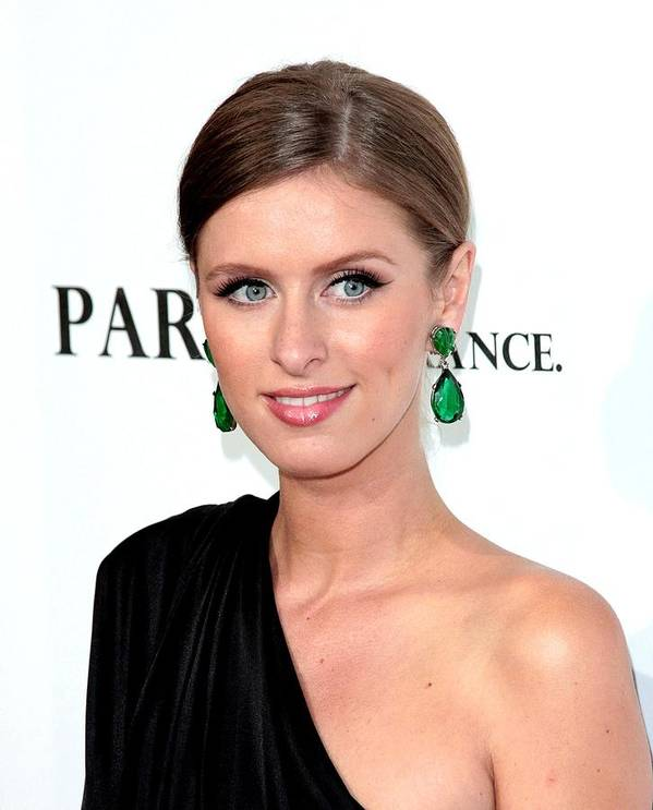 Nikki Hilton Poster featuring the photograph Nicky Hilton At Arrivals For Paris, Not by Everett
