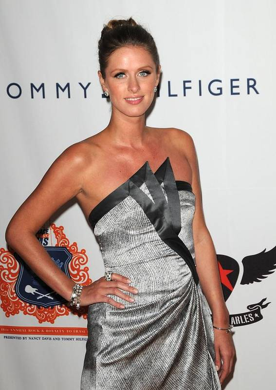 Nicky Hilton Poster featuring the photograph Nicky Hilton At Arrivals For The 18th by Everett