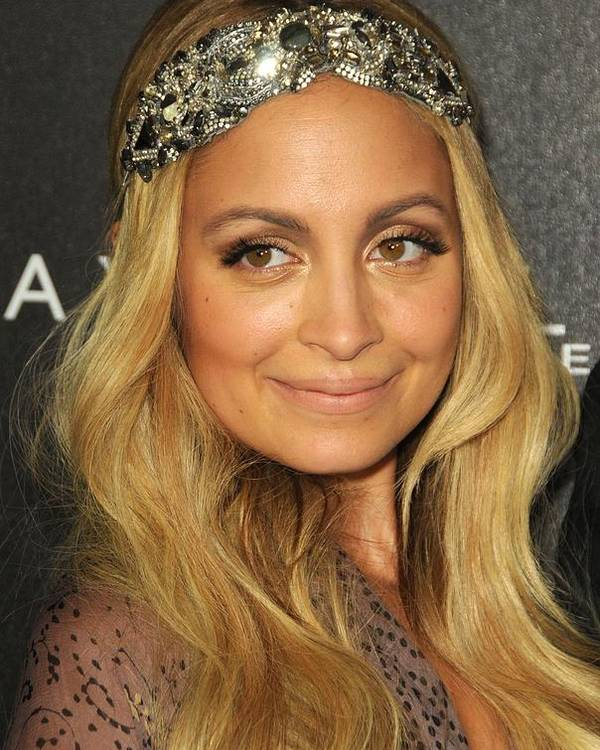 Nicole Richie Poster featuring the photograph Nicole Richie At A Public Appearance by Everett