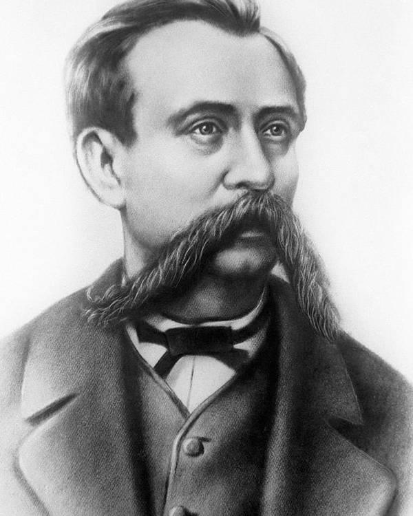 Nikolai Zinin Poster featuring the photograph Nikolai Zinin, Russian Chemist by Ria Novosti