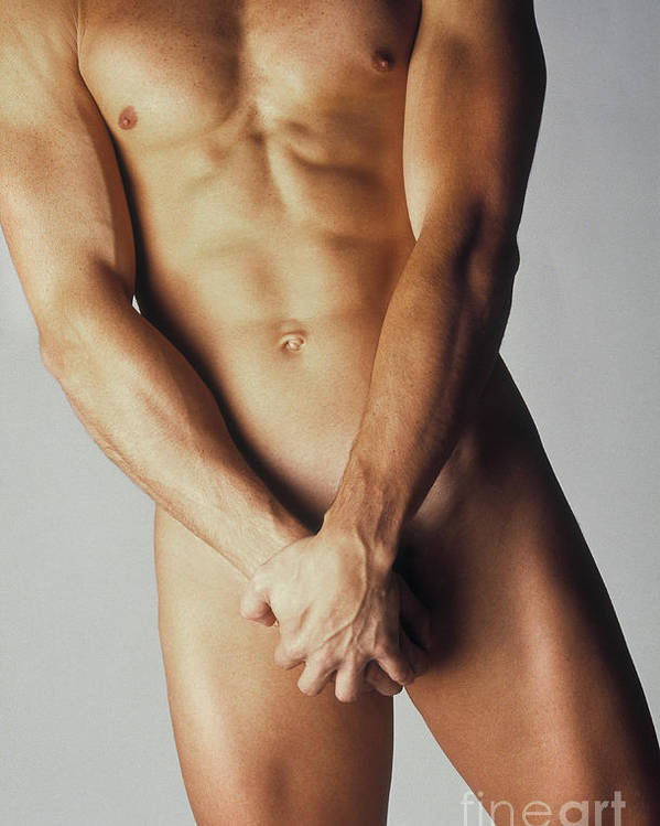 30-34 Years Poster featuring the photograph Nude Man by Juan Silva