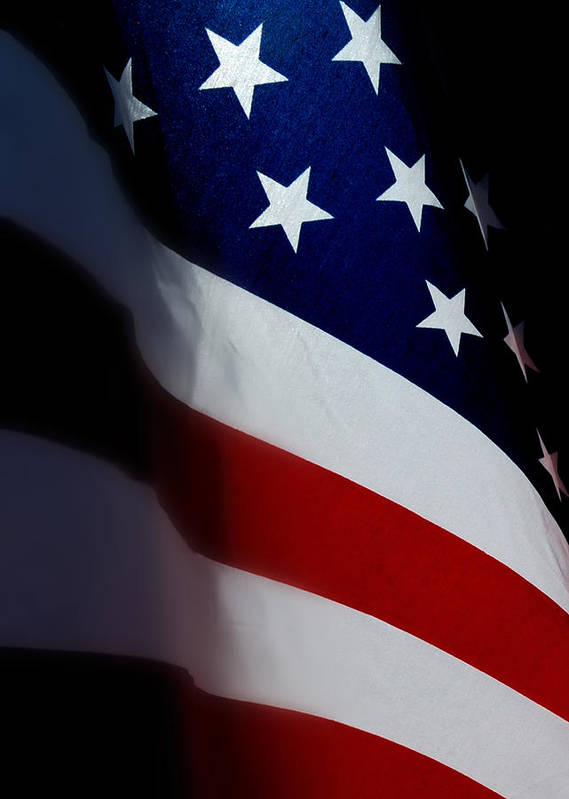 Flags Poster featuring the photograph Old Glory - The Flag Of A Proud Country by Steven Milner
