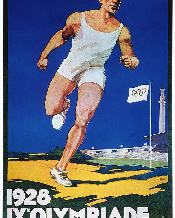 1928 Poster featuring the photograph Olympic Games, 1928 by Granger