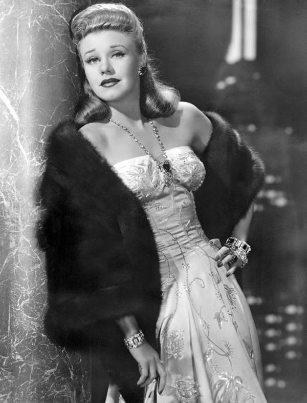 11x14lg Poster featuring the photograph Once Upon A Honeymoon, Ginger Rogers by Everett