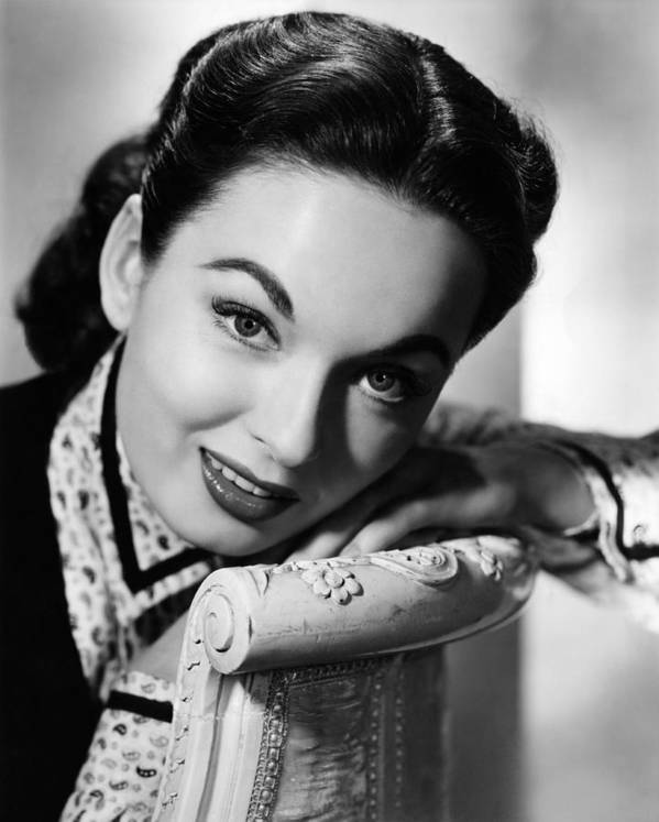1950s Portraits Poster featuring the photograph One Minute To Zero, Ann Blyth, 1952 by Everett