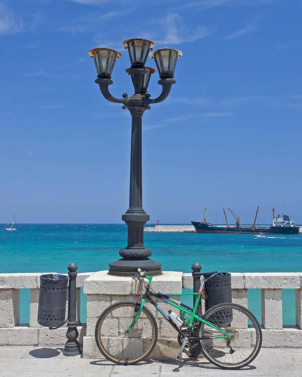 Otranto Poster featuring the photograph Otranto - Apulia by Joana Kruse