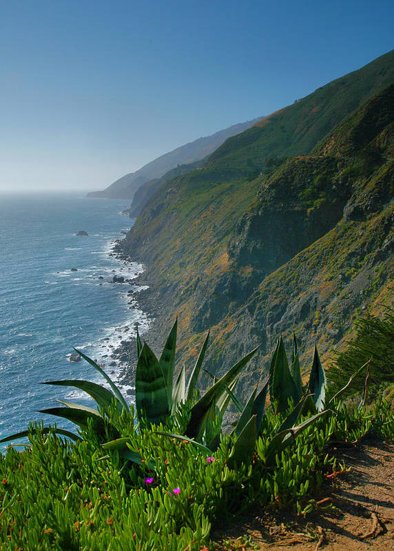 Ocean Poster featuring the photograph Pacific Coast Shoreline IIi by Steven Ainsworth