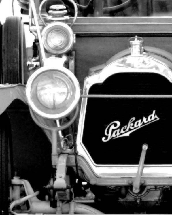 Packard Poster featuring the photograph Packard by Floyd Menezes