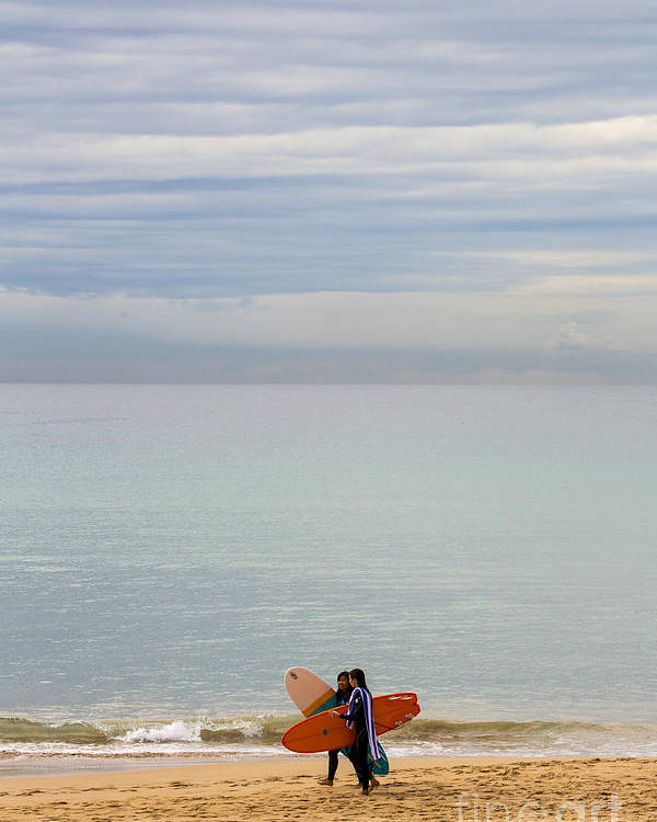 Pastel Poster featuring the photograph Pastel Manly morning by Sheila Smart Fine Art Photography