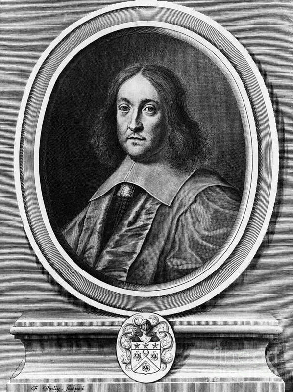 History Poster featuring the photograph Pierre De Fermat, French Mathematician by Photo Researchers, Inc.