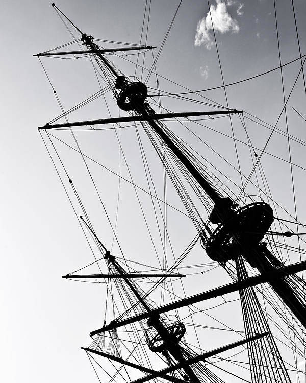 Mast Poster featuring the photograph Pirate Ship by Joana Kruse
