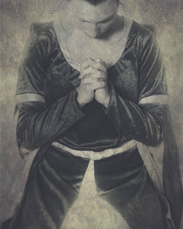 Female Poster featuring the photograph Prayer by Joana Kruse