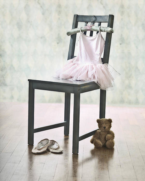 Tulle Poster featuring the photograph Ready For Ballet Lessons by Joana Kruse