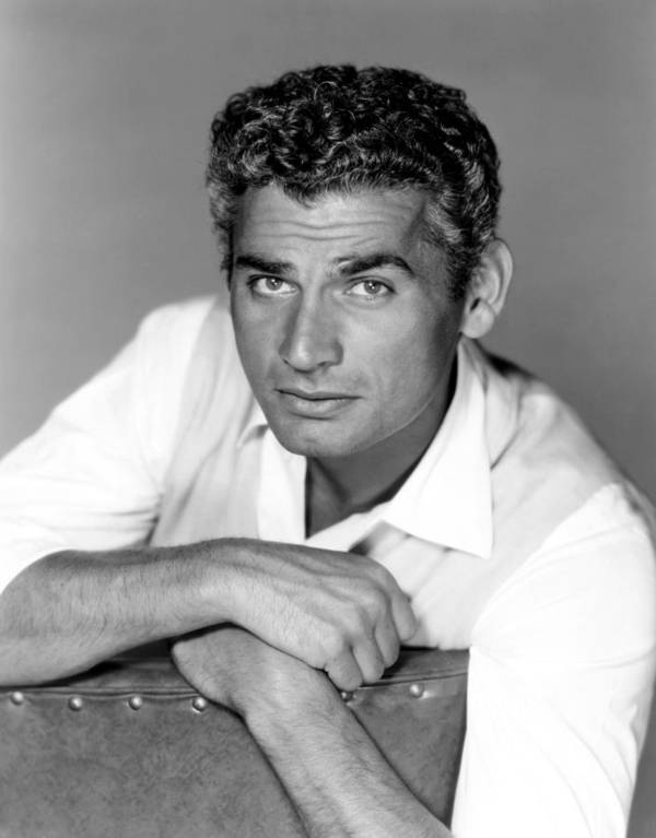 1950s Portraits Poster featuring the photograph Red Ball Express, Jeff Chandler, 1952 by Everett