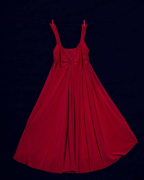Dress Poster featuring the photograph Red Dress by Joana Kruse