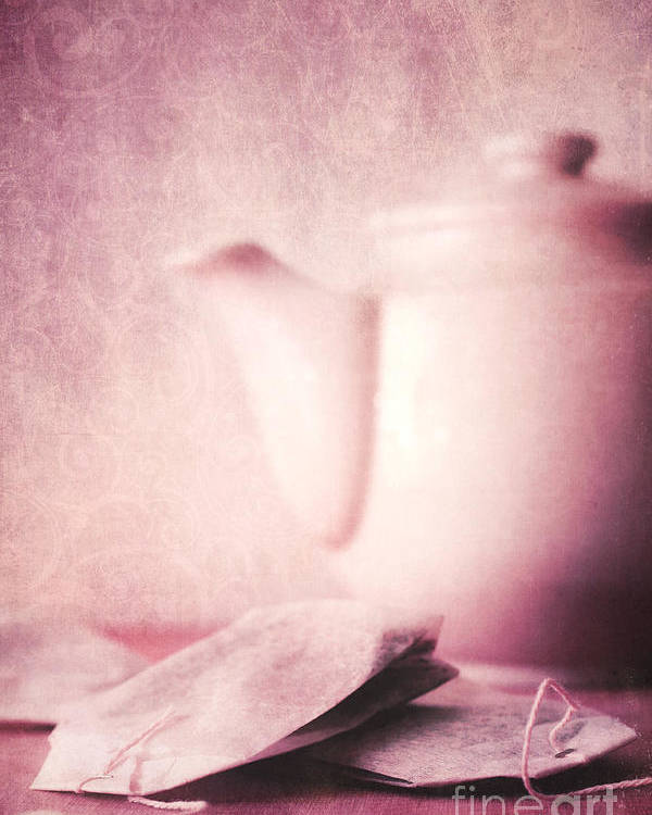 Tea Poster featuring the photograph Relaxing Tea by Priska Wettstein