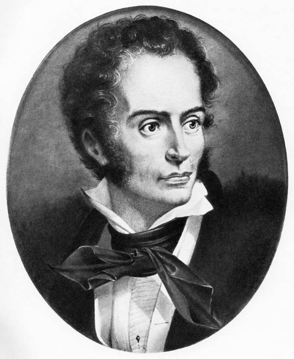 Rene Laennec Poster featuring the photograph Rene Laennec, French Physician by
