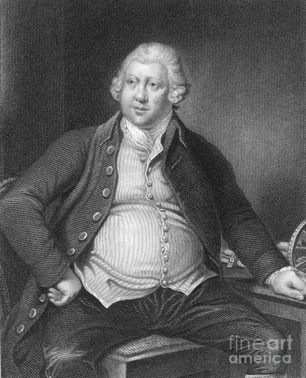 History Poster featuring the photograph Richard Arkwright, English Industrialist by Photo Researchers