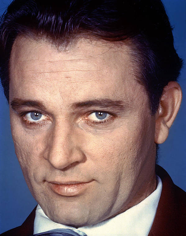 1950s Portraits Poster featuring the photograph Richard Burton, C. 1950s by Everett