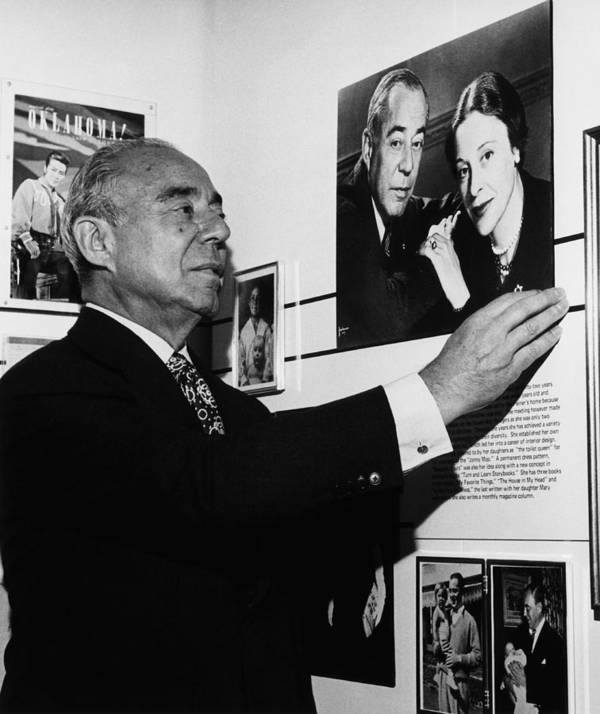 1970s Portraits Poster featuring the photograph Richard Rodgers 1902-1979, American by Everett