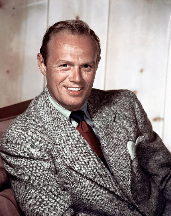 1940s Portraits Poster featuring the photograph Richard Widmark, C. 1940-1950s by Everett