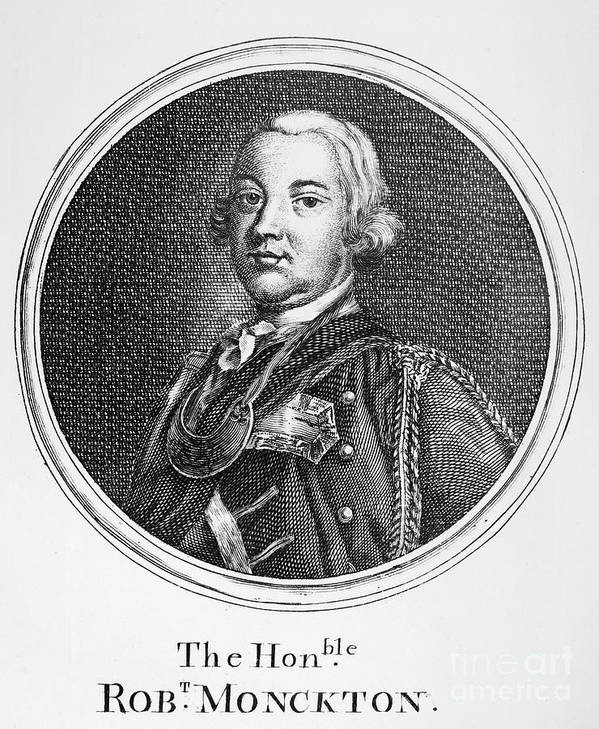18th Century Poster featuring the photograph Robert Monckton (1726-1782) by Granger