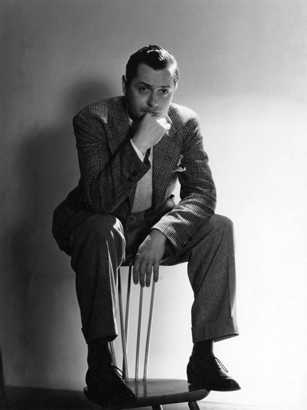11x14lg Poster featuring the photograph Robert Montgomery, Mgm Portrait by Everett