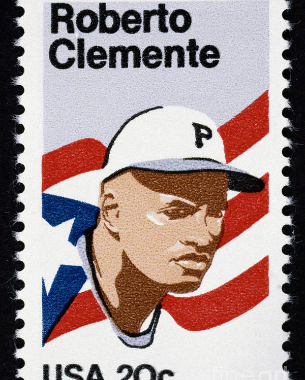 1984 Poster featuring the photograph Roberto Clemente by Granger