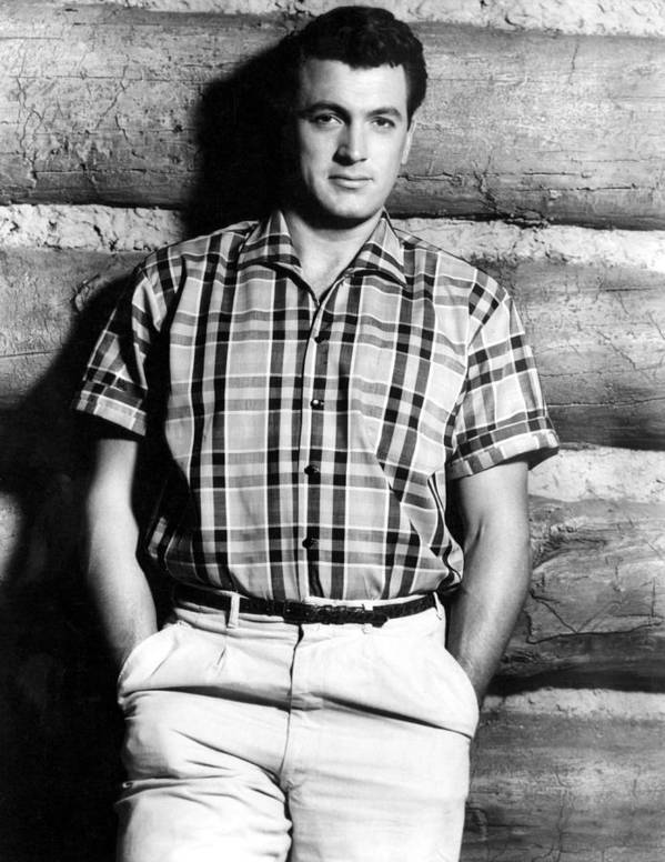 1950s Portraits Poster featuring the photograph Rock Hudson, 1950s by Everett