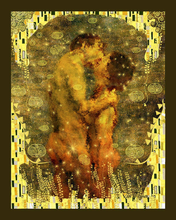 Nude Poster featuring the photograph Romantic Dream by Kurt Van Wagner