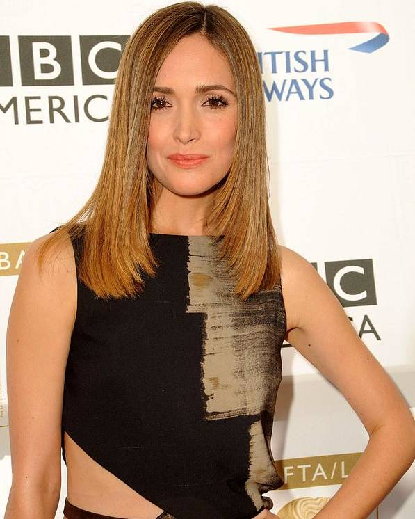 8th Annual Bafta/la Tv Tea Party Poster featuring the photograph Rose Byrne In Gucci At Arrivals For 8th by Everett