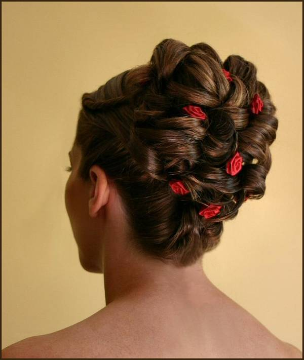 Hairstyle Poster featuring the photograph Rosettes by Kristin Elmquist