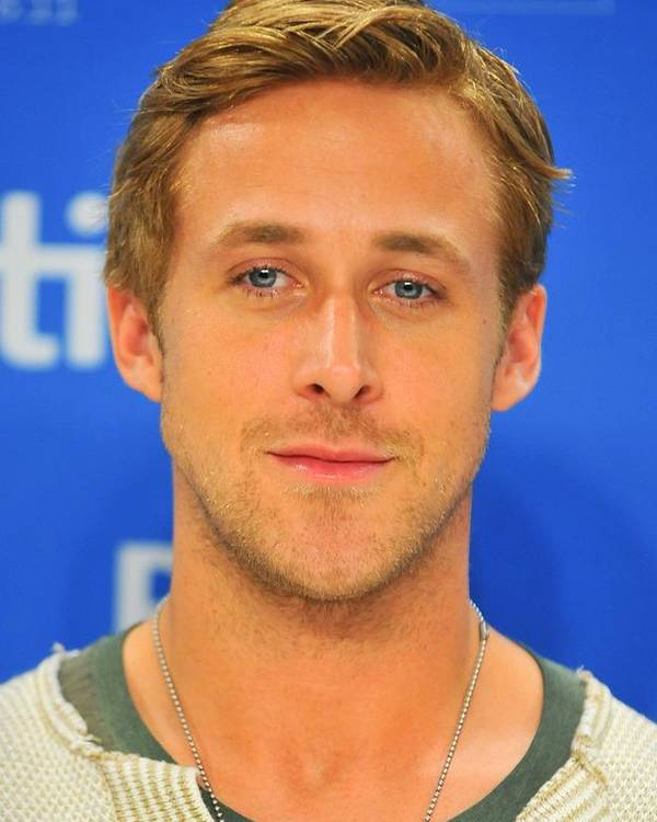 Ryan Gosling Poster featuring the photograph Ryan Gosling At The Press Conference by Everett
