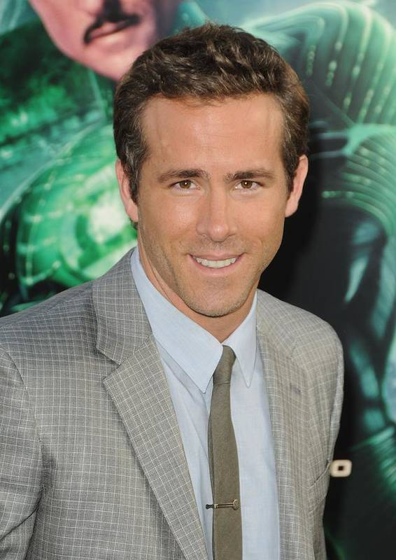 Ryan Reynolds Poster featuring the photograph Ryan Reynolds At Arrivals For Green by Everett