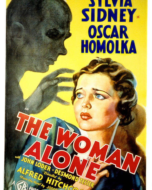 1930s Movies Poster featuring the photograph Sabotage, Aka The Woman Alone, Oscar by Everett