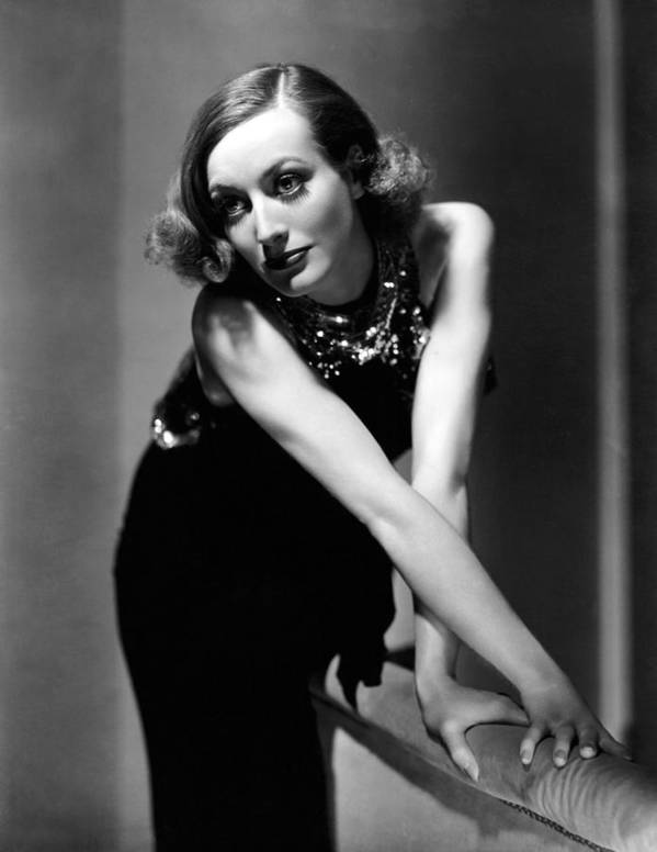 11x14lg Poster featuring the photograph Sadie Mckee, Joan Crawford, 1934 by Everett