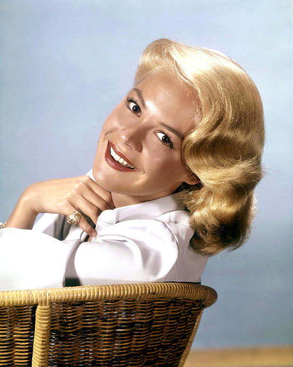 1950s Portraits Poster featuring the photograph Sandra Dee, Ca. 1950s by Everett
