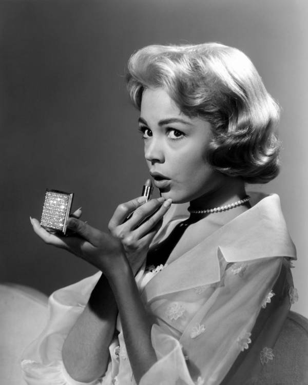 1950s Portraits Poster featuring the photograph Sandra Dee, Ca. Late 1950s by Everett