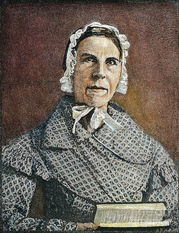 19th Century Poster featuring the photograph Sarah Moore Grimke by Granger