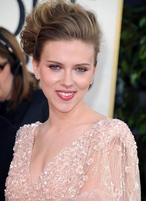 Scarlett Johansson Poster featuring the photograph Scarlett Johansson At Arrivals For The by Everett