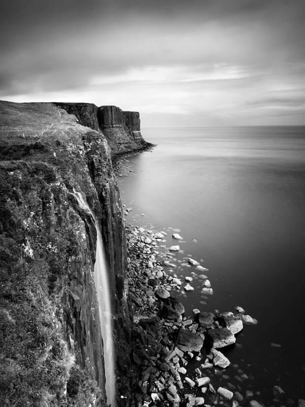 Scotland Poster featuring the photograph Scotland Kilt Rock by Nina Papiorek